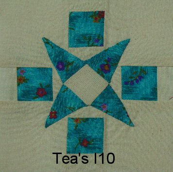 I-10 Iris' Medallion - 20 pieces