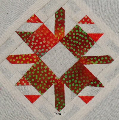 L-2 - Stephanie's Snowflake - 41 pieces